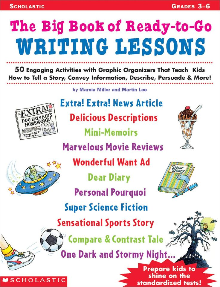 003 Big Book of Ready to Go Writing Lessons Gr 3 to 6