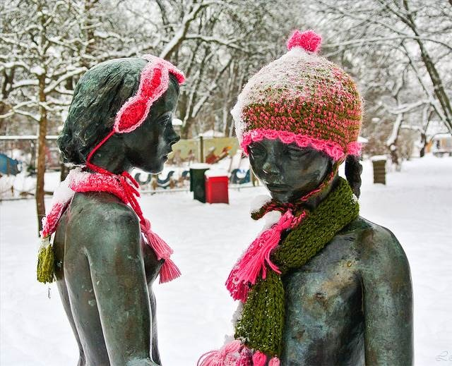 Cute Couple spotted in Uppsala, Sweden