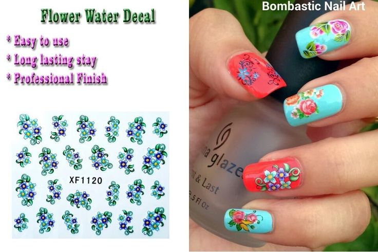 126 best water transfer nail art images on Pinterest | Water ...