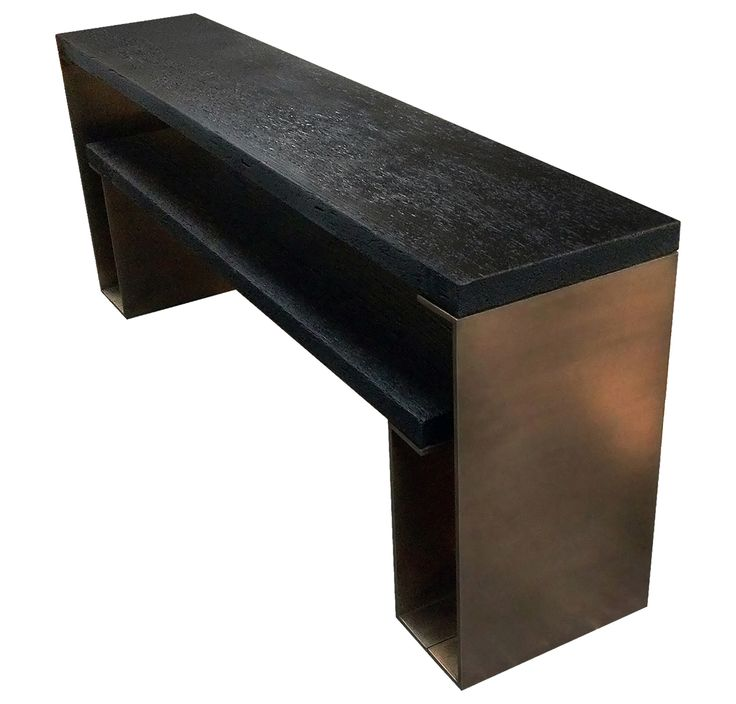 Buy Console No. 01 by Aaron Bladon - Made-to-Order designer Furniture from Dering Hall's collection of Contemporary Industrial Mid-Century / Modern Transitional Console Tables.