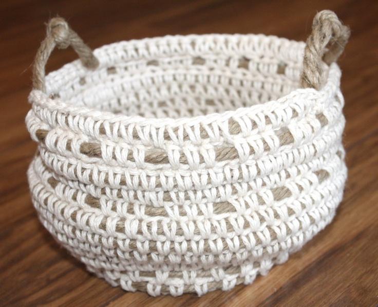 Crochet over rope