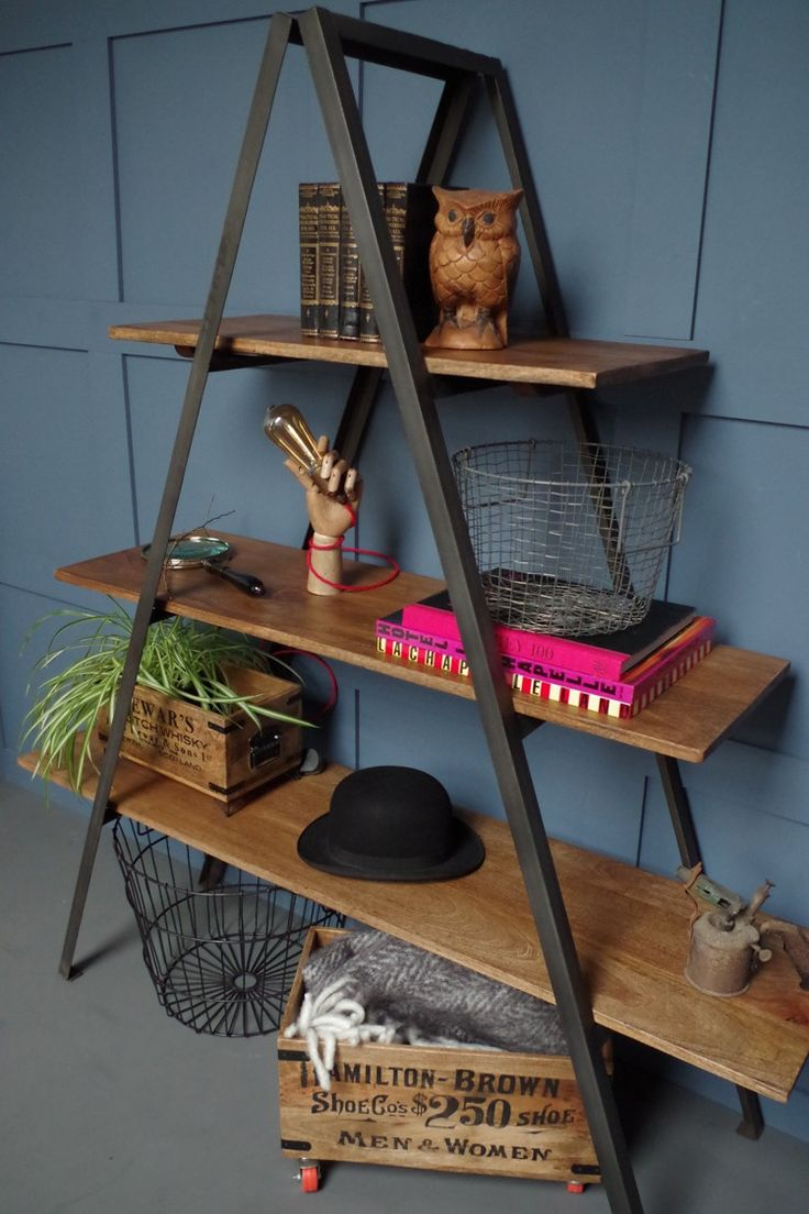 A Frame Shelf, Vincent and Barn. 3 Design Ideas From Bohemian Modern.