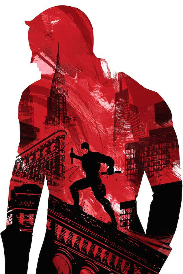 New Daredevil poster (and more to come)