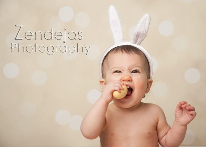 Zendejas Photography | PORTRAITS | Easter Bunny | Babies | Bunny Ears | Smiles