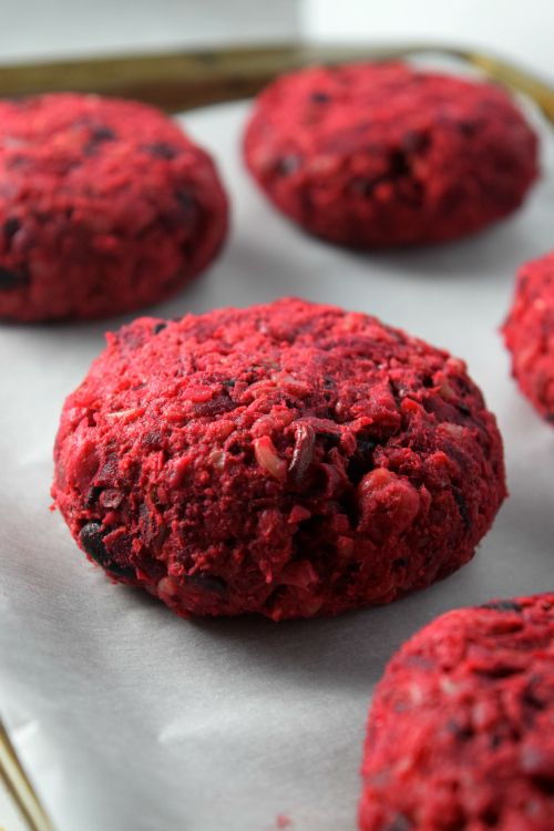 The best way to use beets in making burger patties!! Even beet haters will love these as you won't be able to taste any beet taste in the burgers! NaiveCookCooks.com