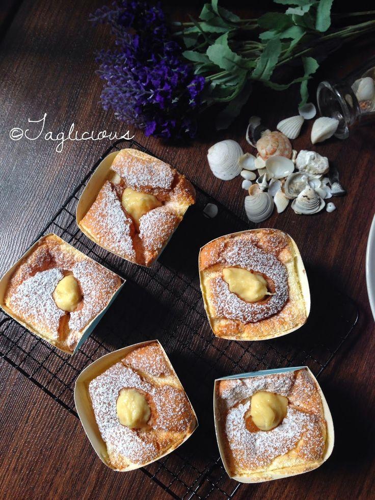 TAGlicious: Hokkaido Cupcakes with Durian