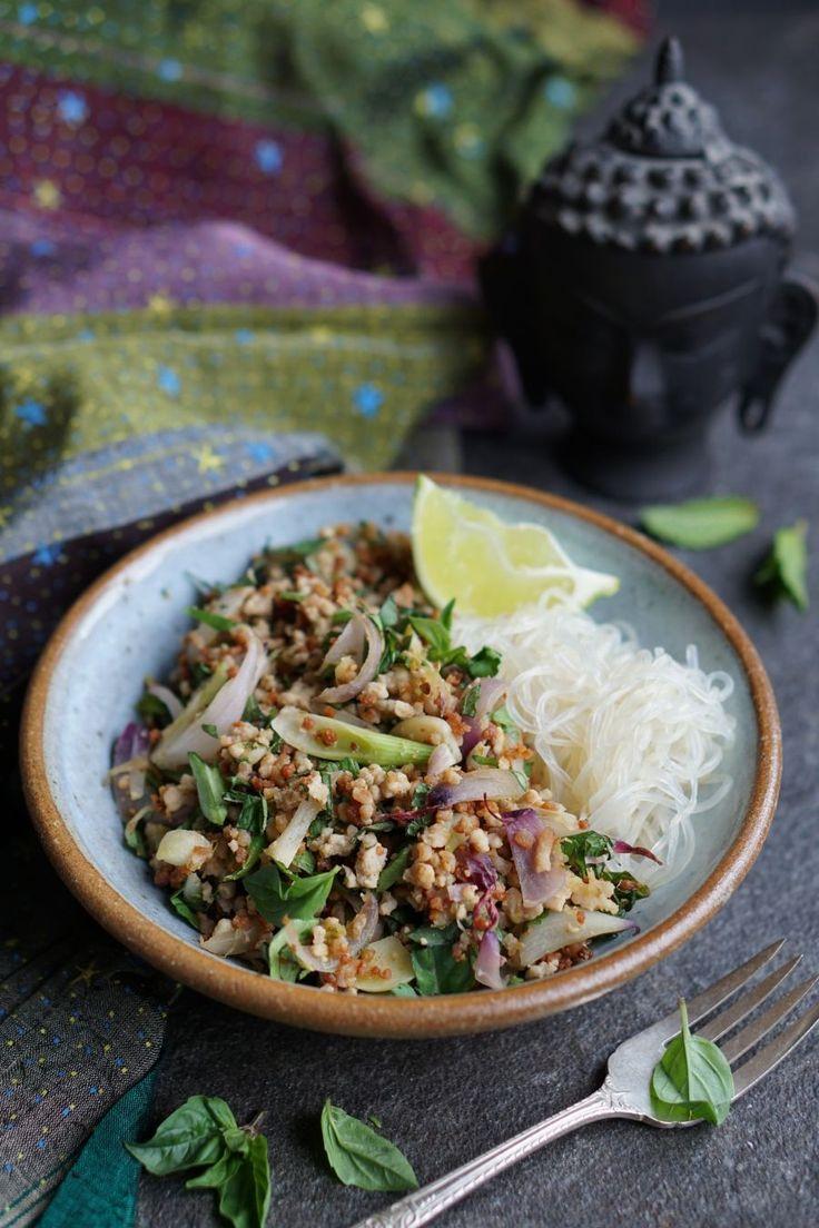 Thai-Inspired Pork Salad - Autoimmune Paleo