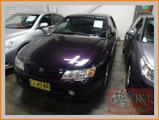 2003 Holden Commodore VY II S Purple Manual 5sp M Sedan
