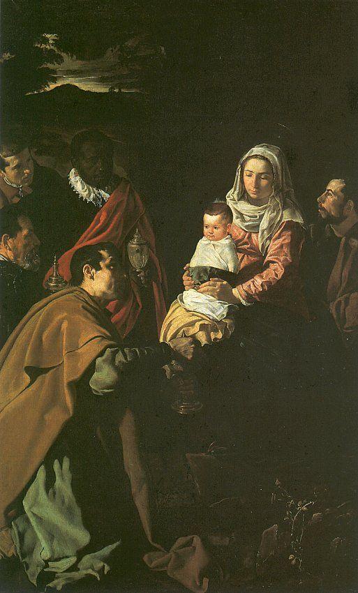 Diego Rodríguez da Silva y Velázquez: The Adoration of the Magi