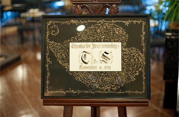結婚式のオリエンタルでエレガントなウェルカムボードのまとめ一覧