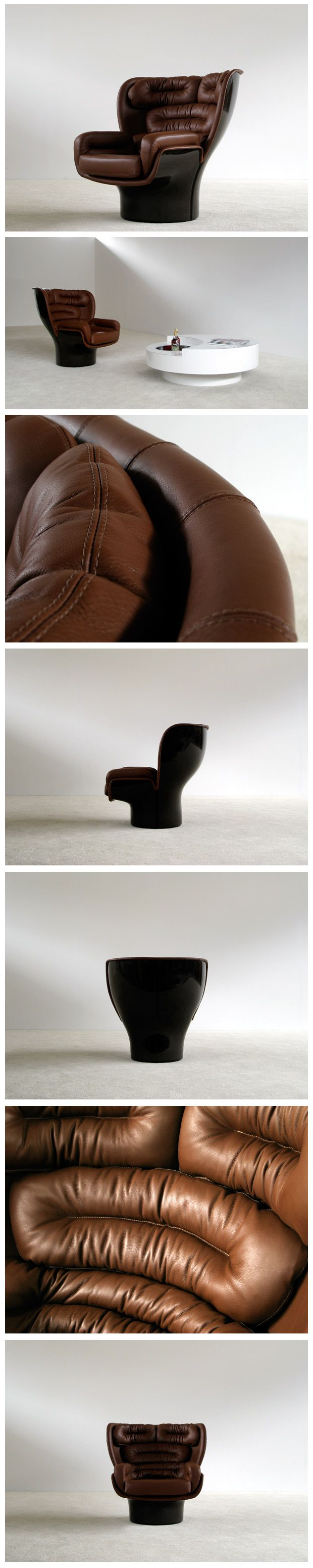 1000 ideas about joe colombo on pinterest luminaire design product - Elda Lounge Chair Joe Colombo