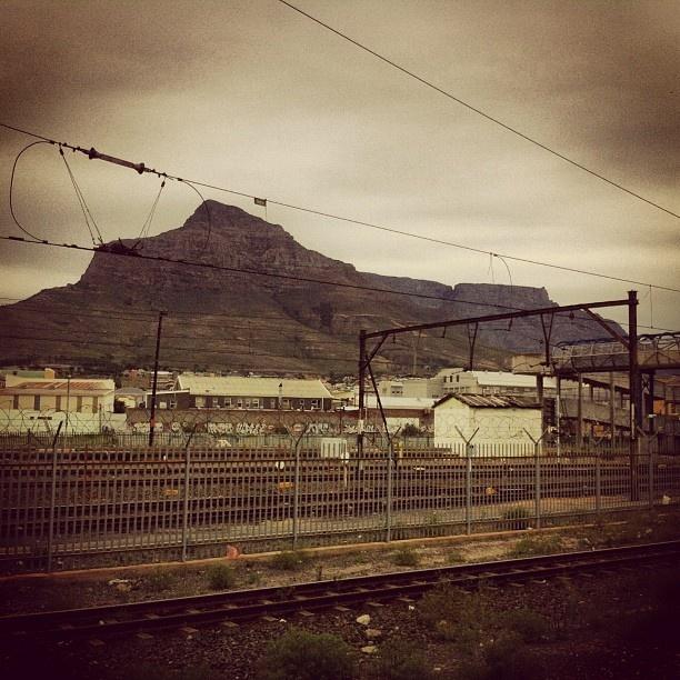 Table Mountain, as seen from Salt River station. - @stanengelbrecht- #webstagram