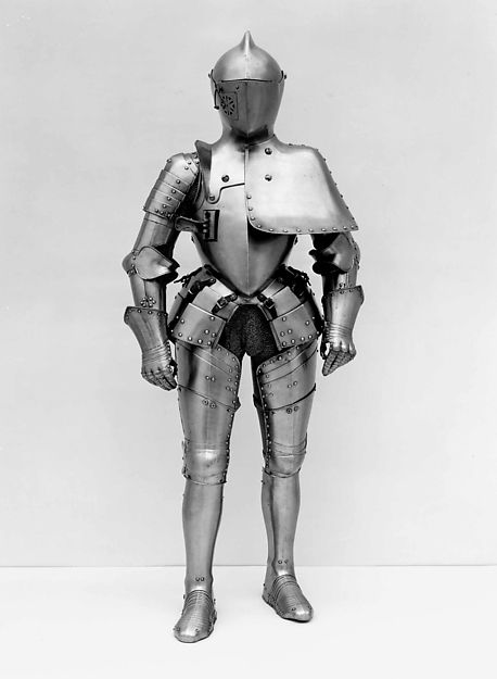 Attributed to Anton Peffenhauser (German, 1525–1603). Armor for the Tilt, ca. 1580. The Metropolitan Museum of Art, New York. Bashford Dean Memorial Collection, Gift of Helen Fahnestock Hubbard, in memory of her father, Harris C. Fahnestock, 1929 (29.154.1) #halloween #costume