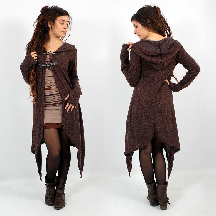 Cardigan Witch \Makshi\, Brown