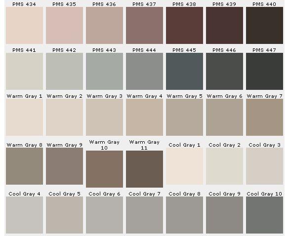 Pantone Color Chart Ensures Accuracy | CustomPins Inc ...  Pantone Color Chart Brown