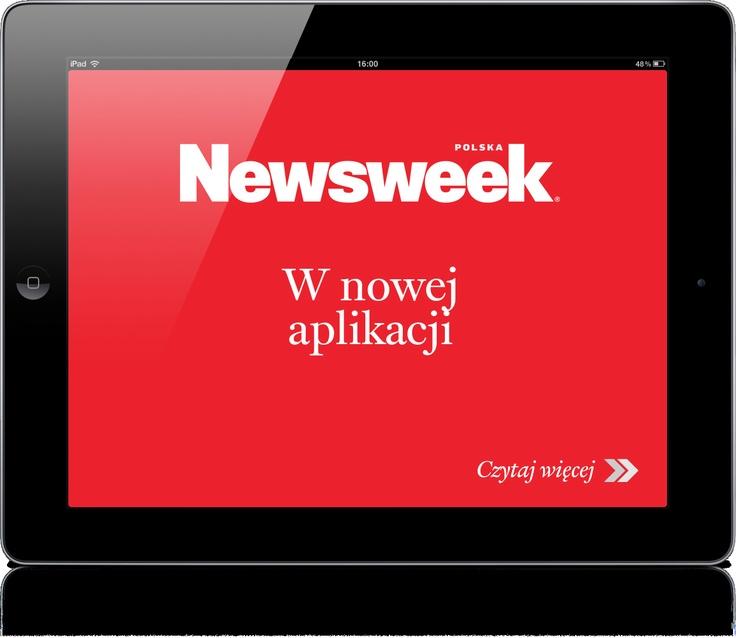 NEWSWEEK POLSKA, tygodnik społeczno-polityczny. Klient: Ringer Axel Springer Polska, Wersja iOS.