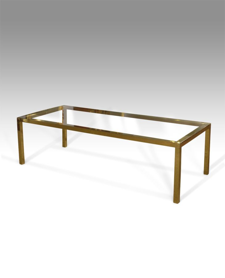 rectangular glass surface raised on four square legs find this pin and more on antique living room furniture