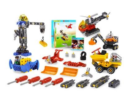 9206 ЛЕГО ДАКТА - Комплект с технологични машини  / 9206 LEGO DACTA - Tech Machines Set