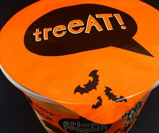 nothin' better than a spooky treat! time for some #spicedpumpkin #nobull #treeAT