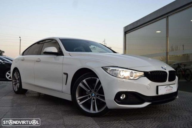 BMW 420 d gran coupé line sport preços usados