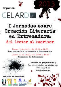 JORNADAS CREACIÓN LITERARIA - CELARD