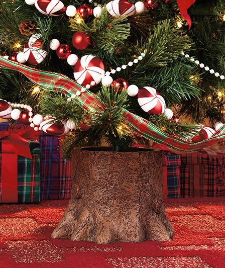 decorative artificial christmas tree stand the lakeside collection - Artificial Christmas Tree Stand