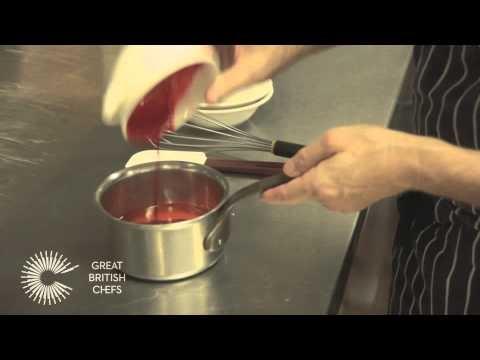How to make a raspberry gel - Michael Wignall