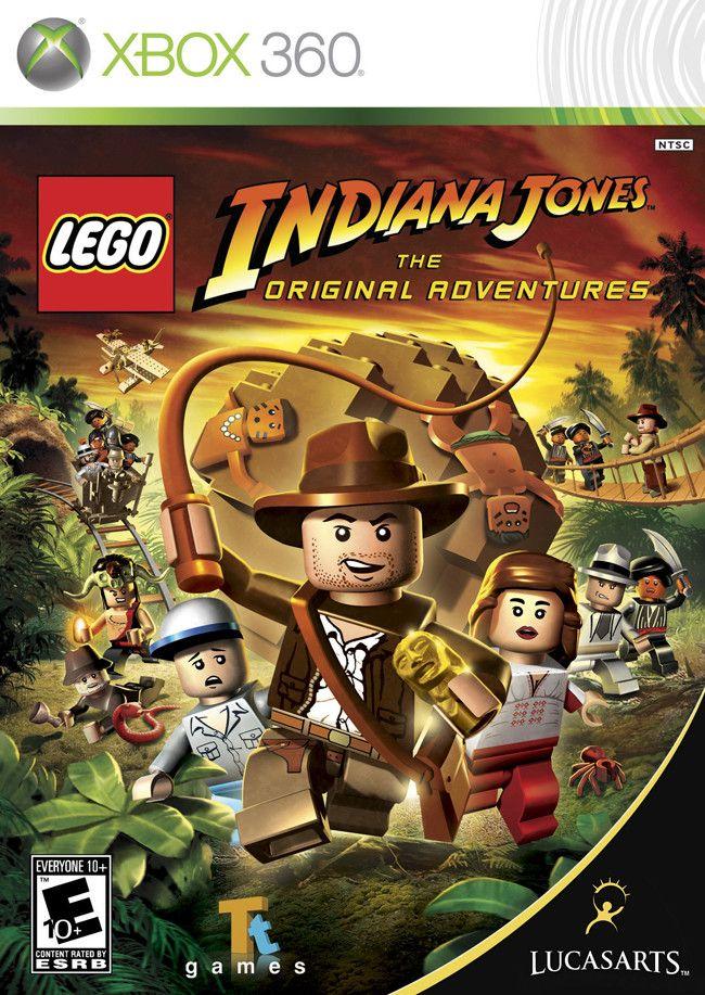 Lego Indiana Jones The Original Adventures for Xbox 360.