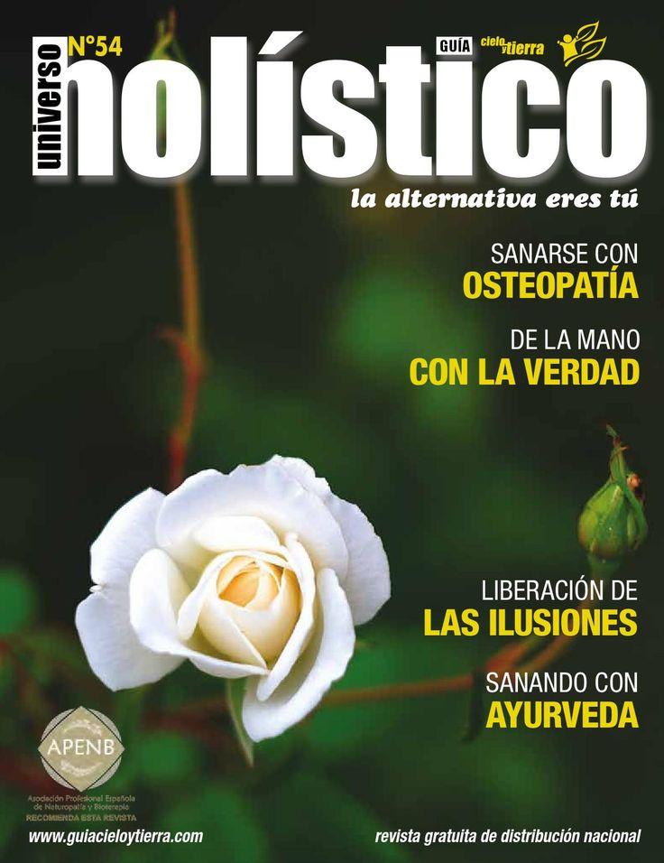 Revista Universo Holístico UH54  revista gratuita de distribución nacional