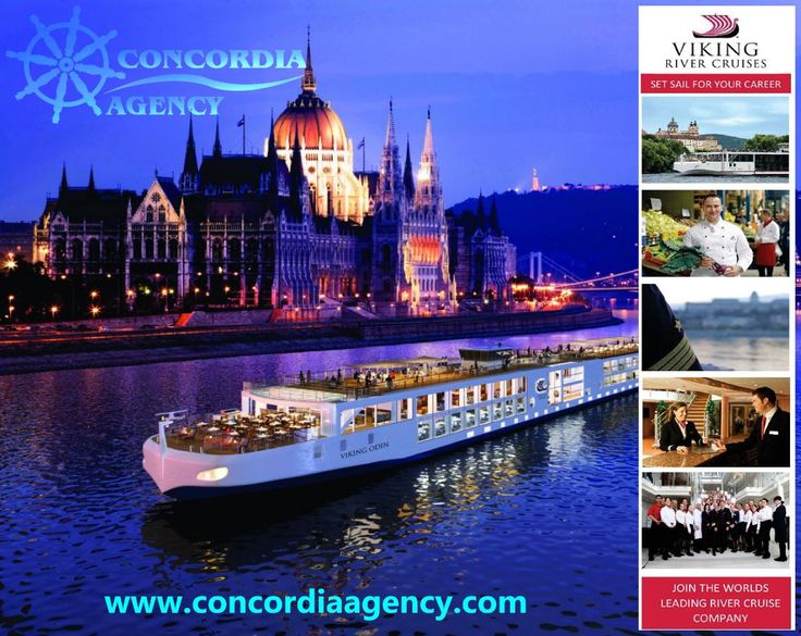 VIKING RIVER CRUISES and CONCORDIA Agency are cooperating at INTERVIEW for river going vessels 4* in Europe. In case of interest, please do not hesitate to contact us at HR@concordiaagency.com