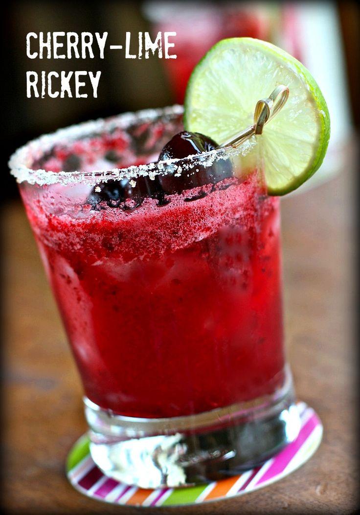 Cherry-Lime Rickey | daisysworld.net