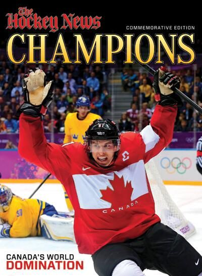 The Hockey News celebrates Canada's Olympic domination in a 100-page Commemorative Edition (via Twitter)