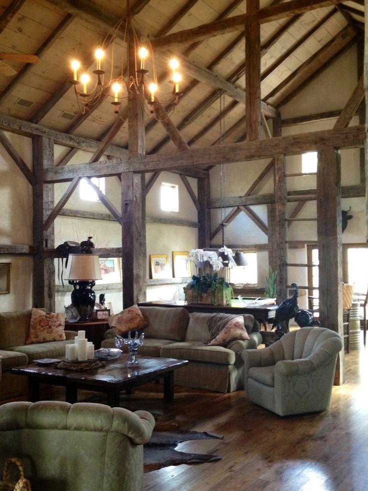 Amish barn renovation airport house pinterest for Barn renovation