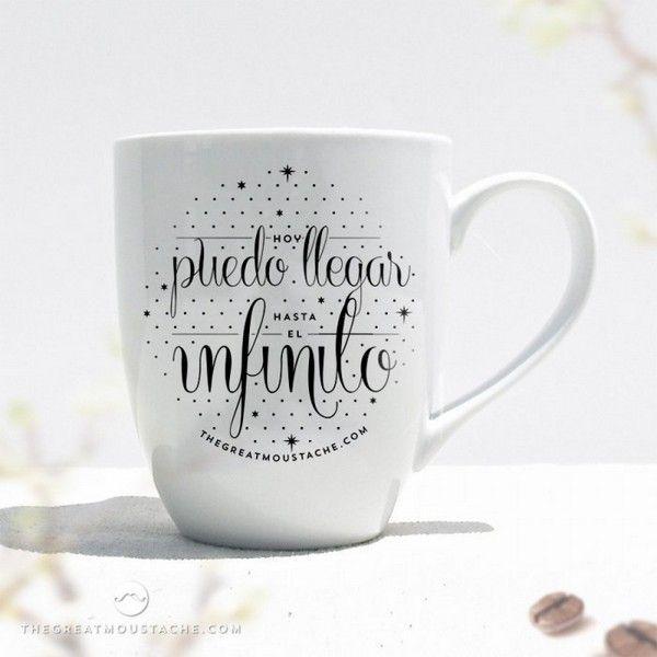 Mejores 154 im genes de tazas en pinterest frases en - Como decorar una taza ...