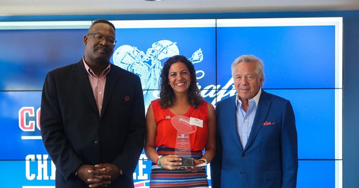 On Thursday, June 2, the New England Patriots Charitable Foundation honored the 26 winners of the 2016 Myra Kraft Community MVP Awards. The receipients were recognized for their efforts by Patriots Chairman and CEO Robert Kraft, Patriots Charitable Foundation President Joshua Kraft, Patriots Executive Director of Community Affairs Andre Tippett, and QB