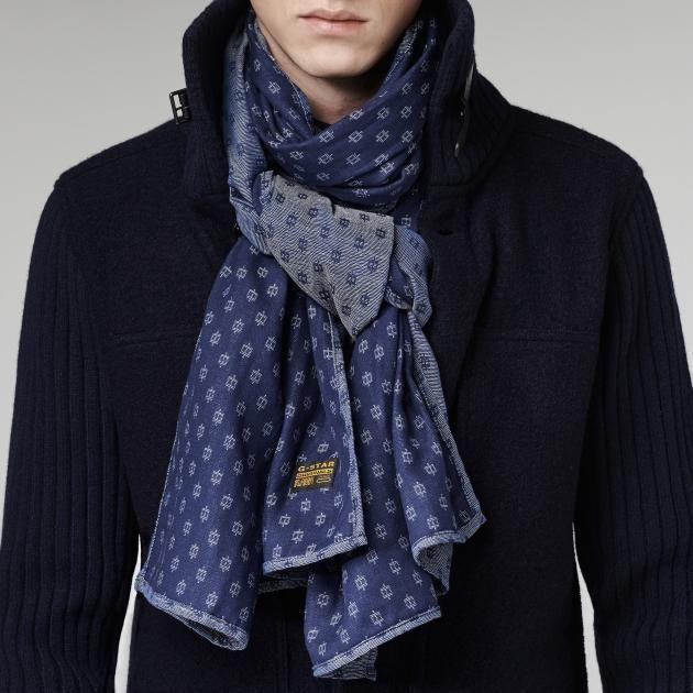 piccard scarf / g-star raw