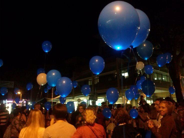 Blu, blu i mille palloncini blu!!!! #notteceleste