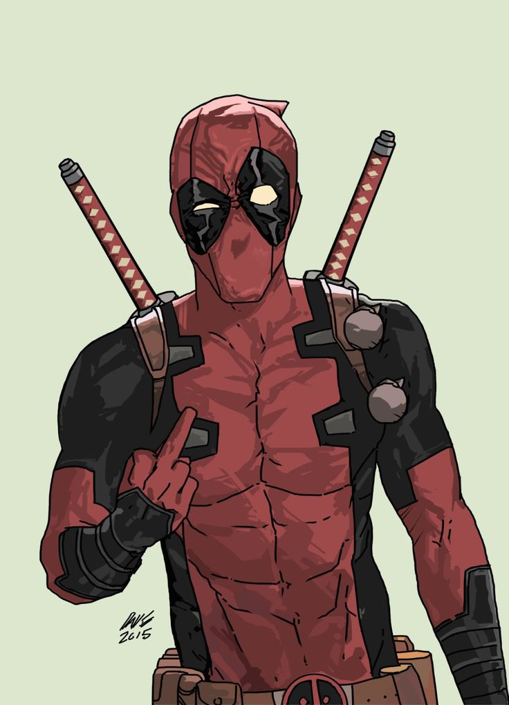 Deadpool thinks you're #1