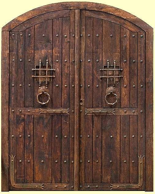 17 mejores ideas sobre puertas de madera rusticas en