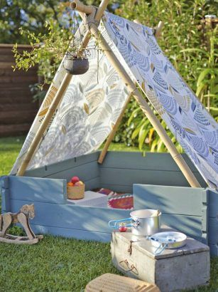 Jardin : 20 idées pour créer un espace pour les enfants