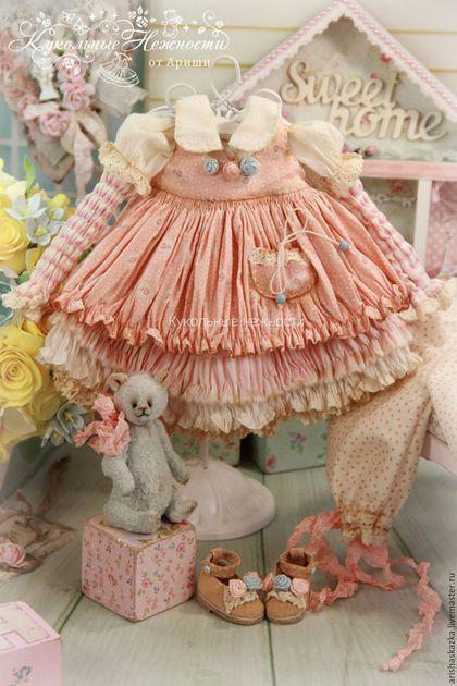Одежда для кукол ручной работы. Ярмарка Мастеров - ручная работа. Купить…