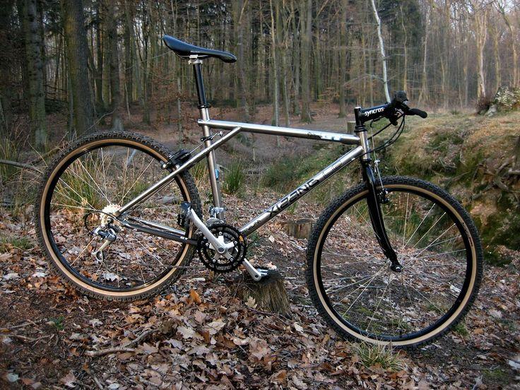 1990 Gt All Terra Xizang Titanium Bicycles Pinterest Bicycling