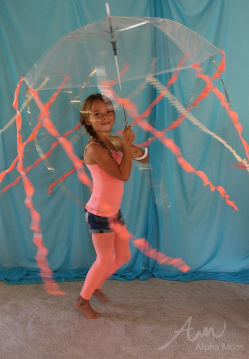 Kids' Jellyfish Costume (from the DIY Under-the-Sea Costume Series) by Brenda Ponnay for Alphamom.com