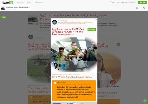"flygcforum.com ✈ AMERICAN AIRLINES FLIGHT 11 ✈ ""We have some planes"" ✈"