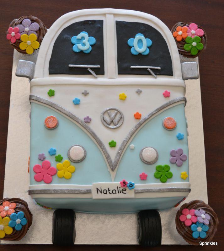 VW hippy Cake