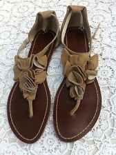 Cinnamon Cute Summer Flats Size 41