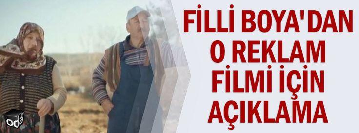 Filli Boya'dan o reklam filmi için açıklama
