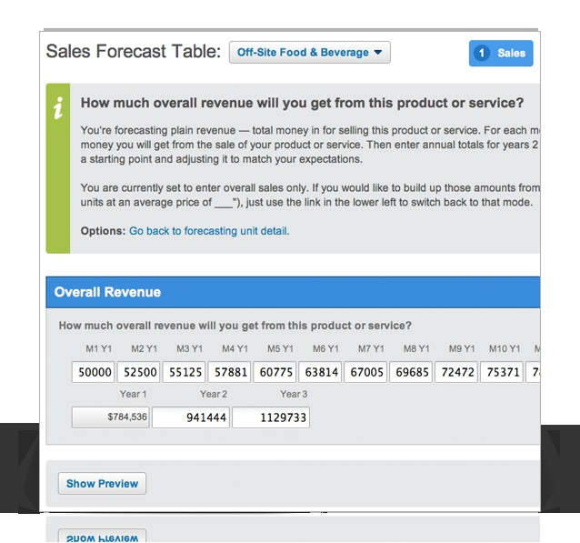Business Planning Financials Made Easy - LivePlan