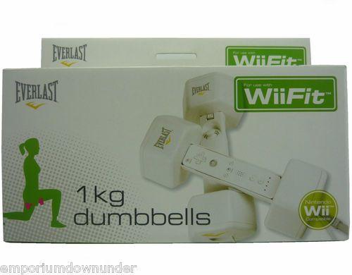 Everlast 1kg Dumbbells Set Nintendo Wii Fit Compatible Fitness Gaming  http://stores.ebay.com.au/Emporium-Downunder