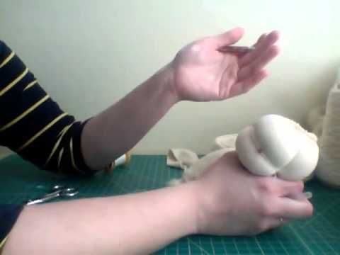 tutorial how to make waldorf doll head
